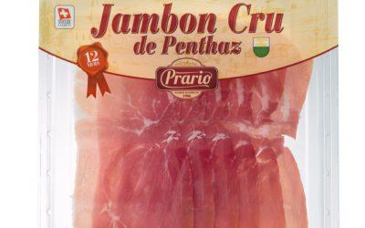 Jambon cru en barquette